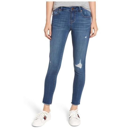 1822 Denim Denim - 1822 Denim distressed skinny jeans